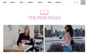 The Pink Pages Logo