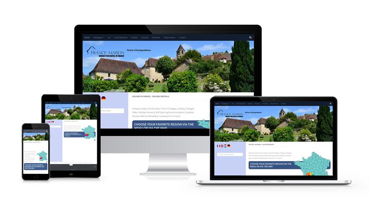 Web We Can WordPress development France-Maison